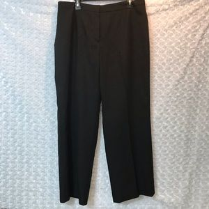 Kasper Women Stripped Trousers Pants Plus Size 14